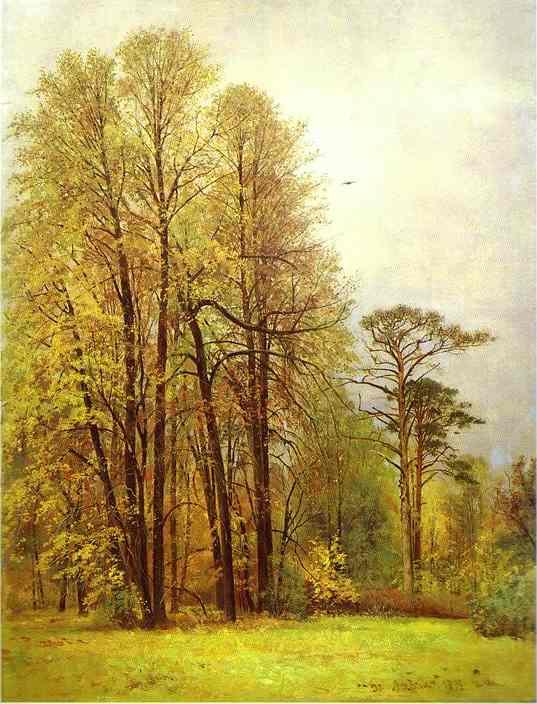 Oil painting:Autumn. 1892