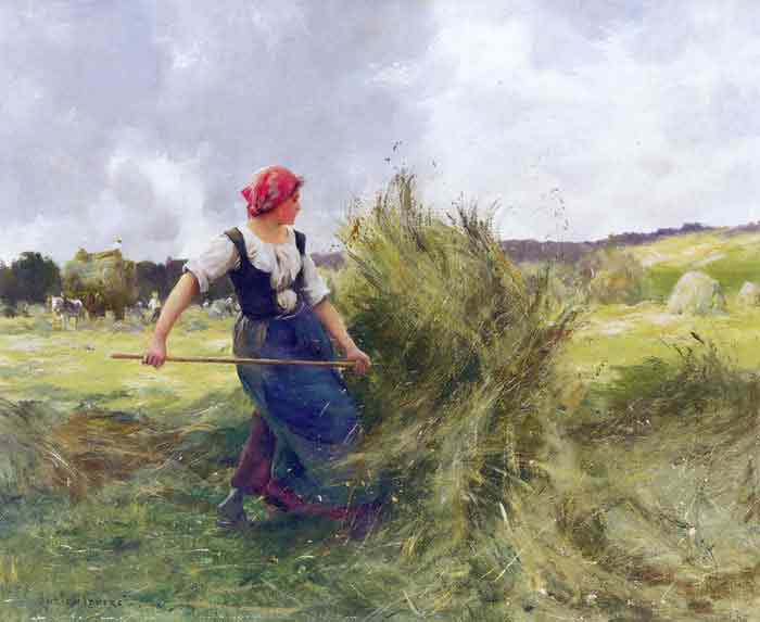 Oil painting for sale:La Faneuse [The Haymaker]
