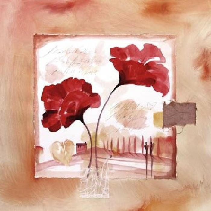 Hearts & Flowers I
