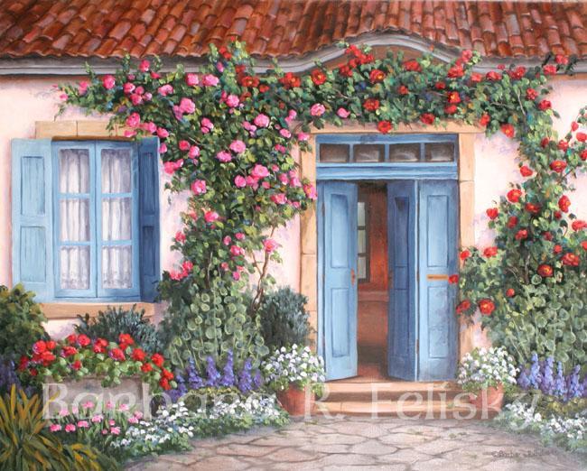 Rose Around The Door