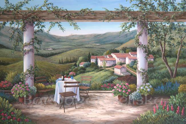 Vineyard Afternoon