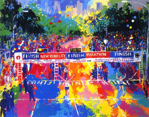 Classic Marathon Finish