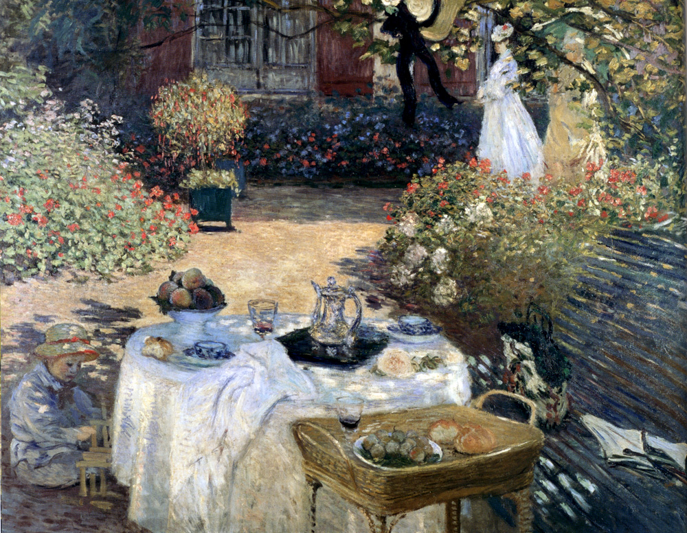 Monet The Luncheon