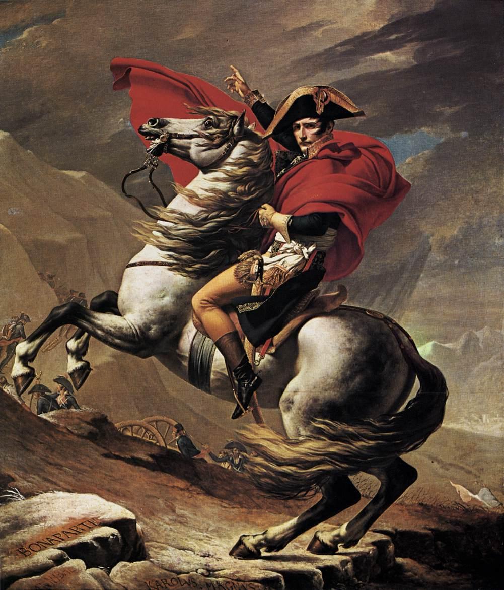 Napoleon at the St. Bernard Pass