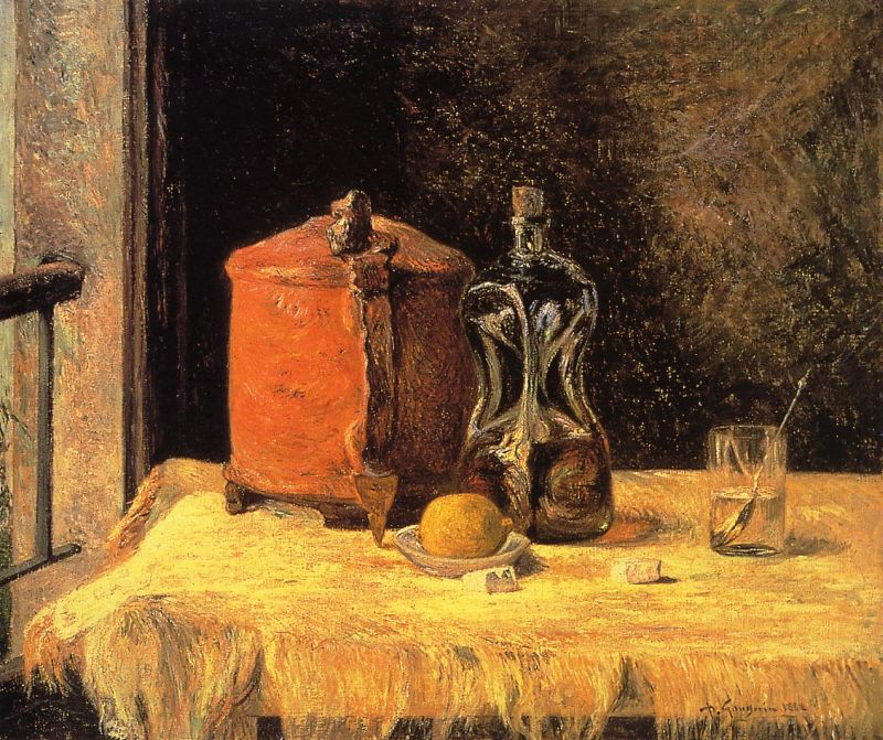 Still Life with Mig and Carafe