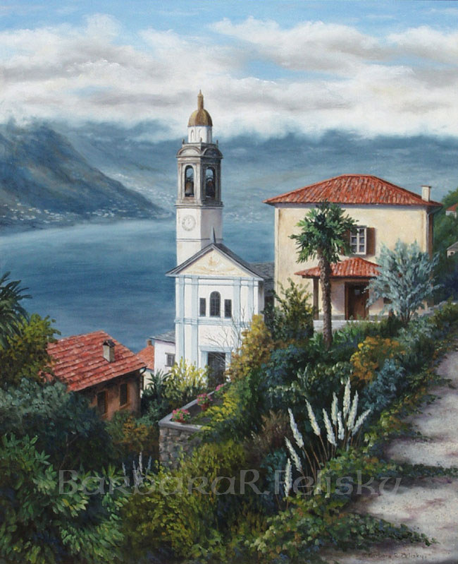 The Church At Nesso