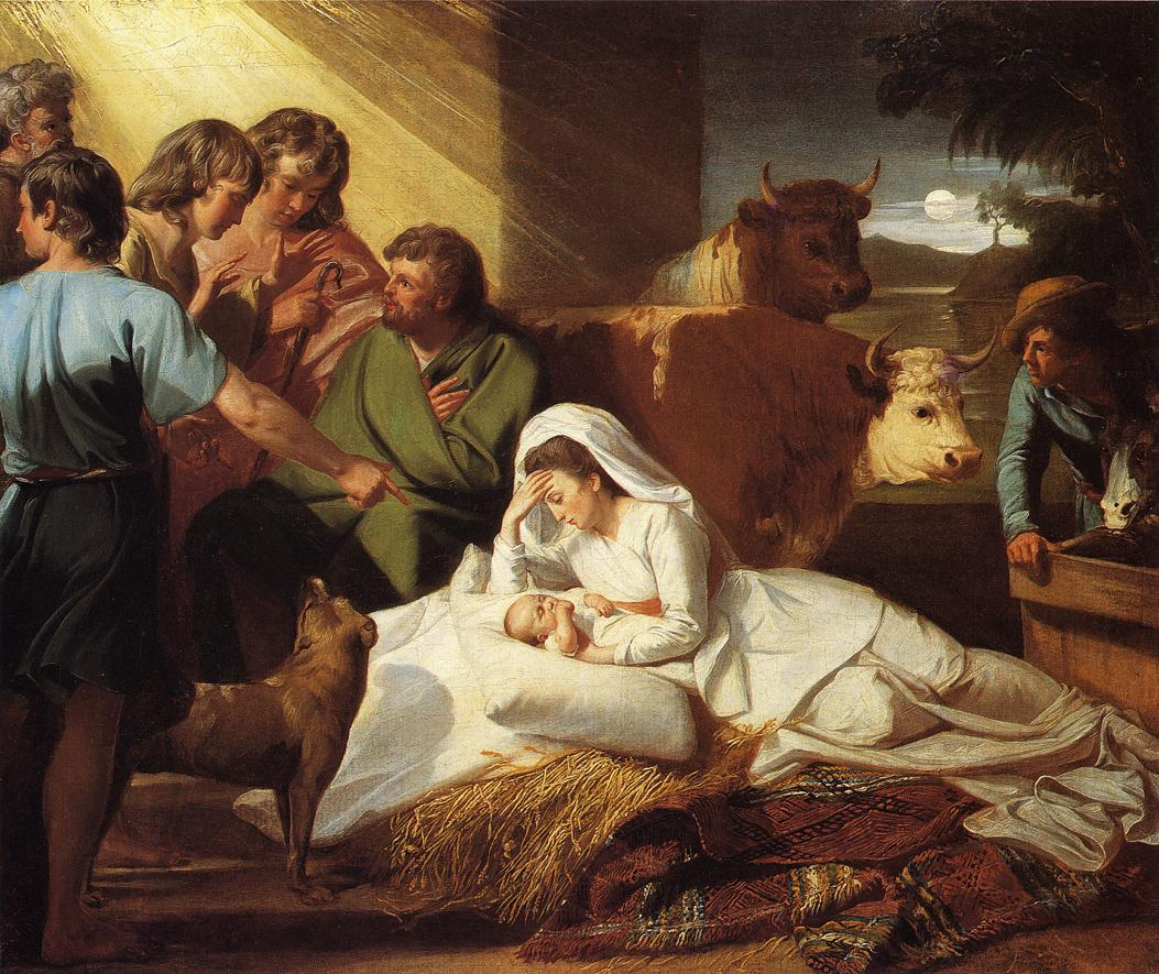 The Nativity - More Art, oil paintings on canvas.