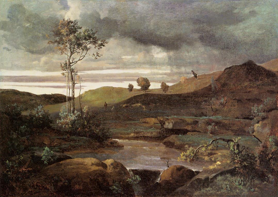 The Roman Campagna in Winter