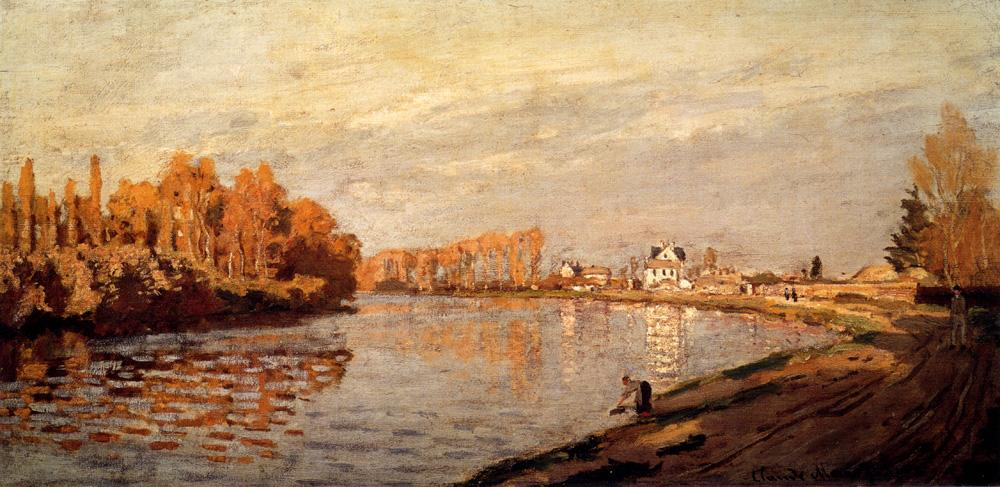 The Seine At Argenteuil I