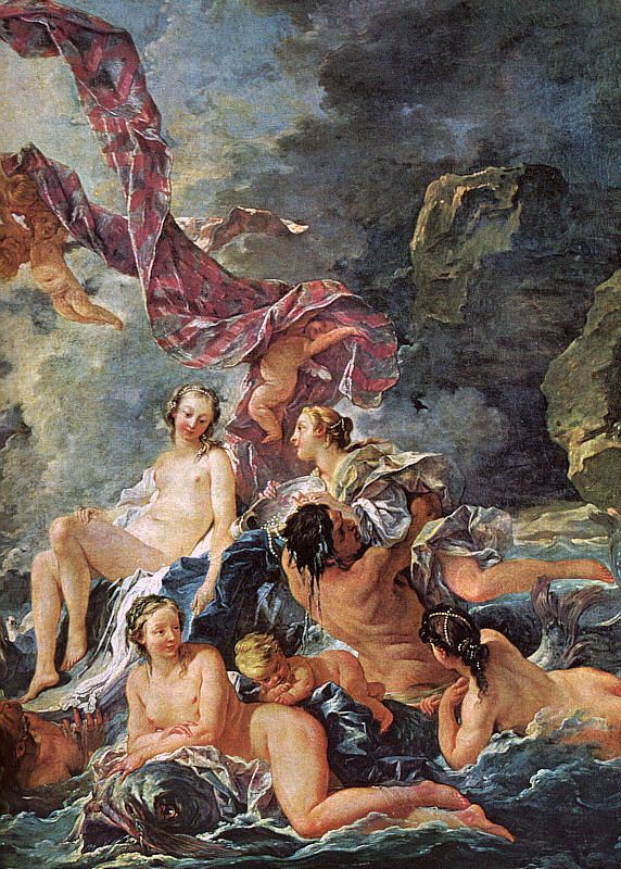 The Triumph of Venus detail