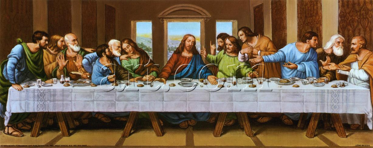 the picture of last supper