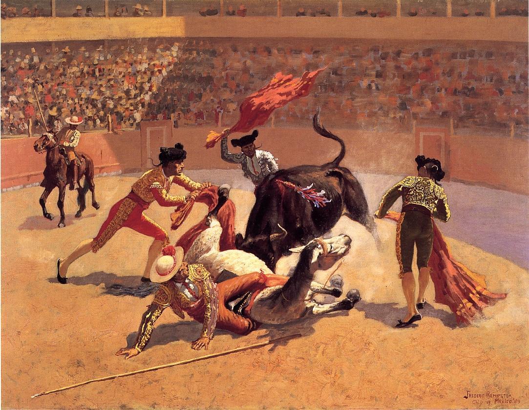 Bull Fight in Mexico