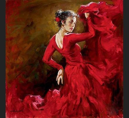 Crimson Dancer