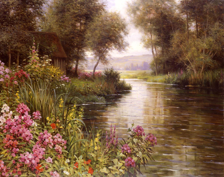 Fleur au bord de la Riviere