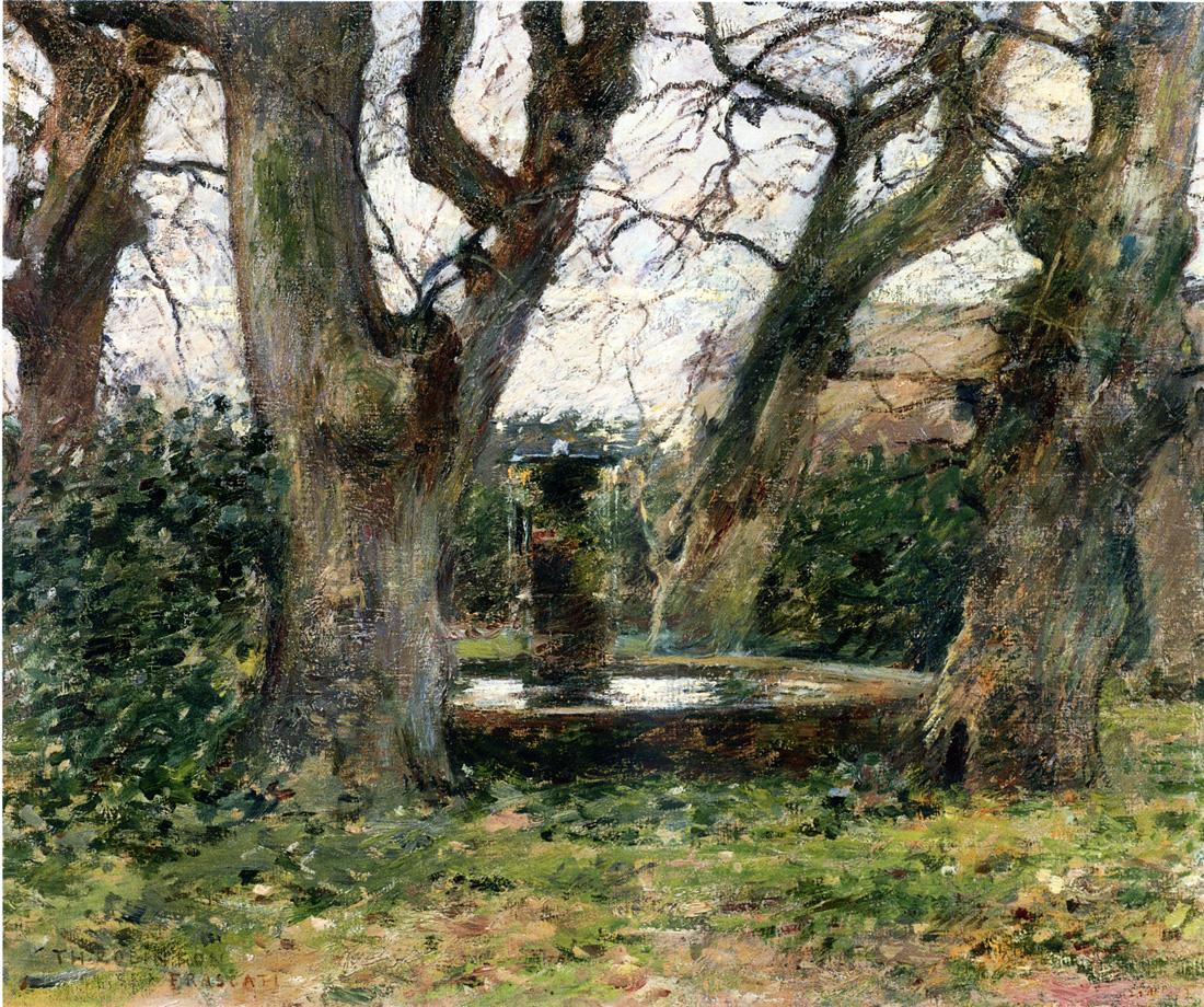 Italian Landscape with a Fountain