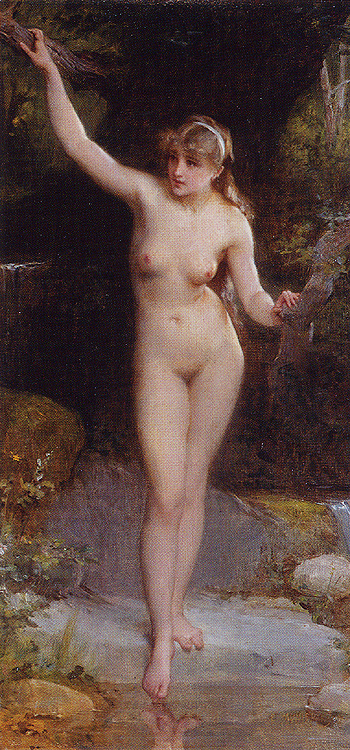La Baigneuse The Bather