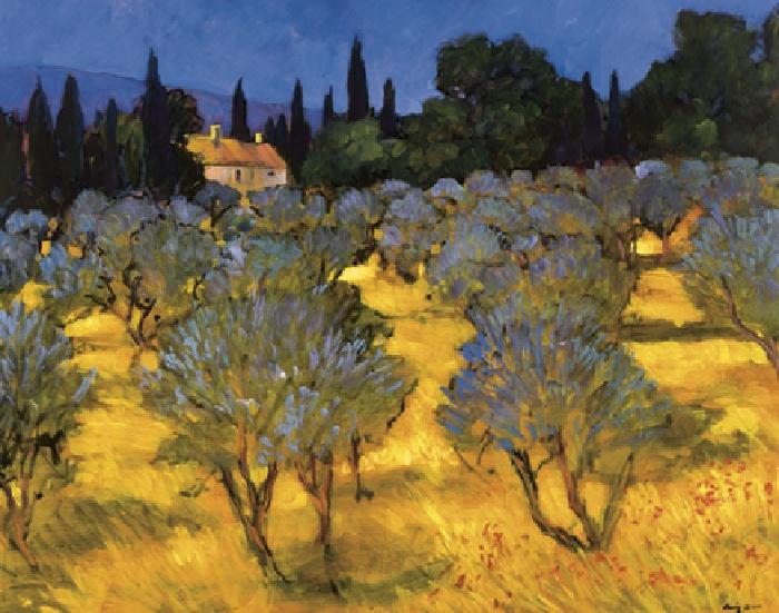 Les Olives en Printemps (The Olives in Spring)
