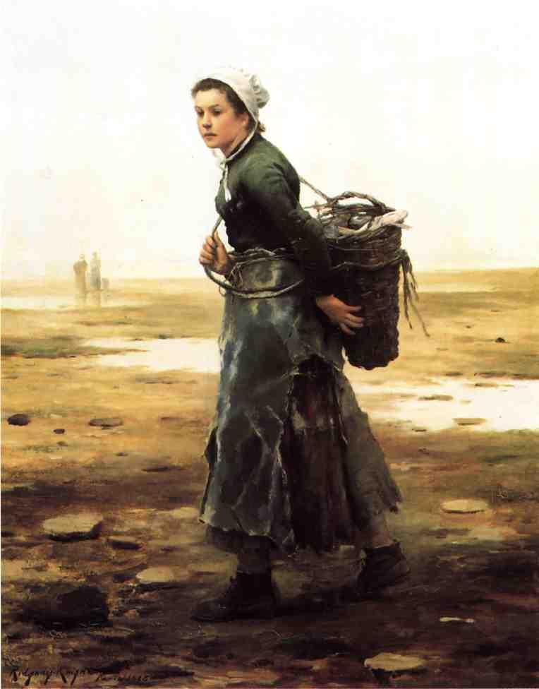 The Oyster Gatherer