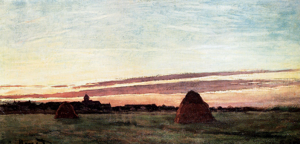 Haystacks At Chailly
