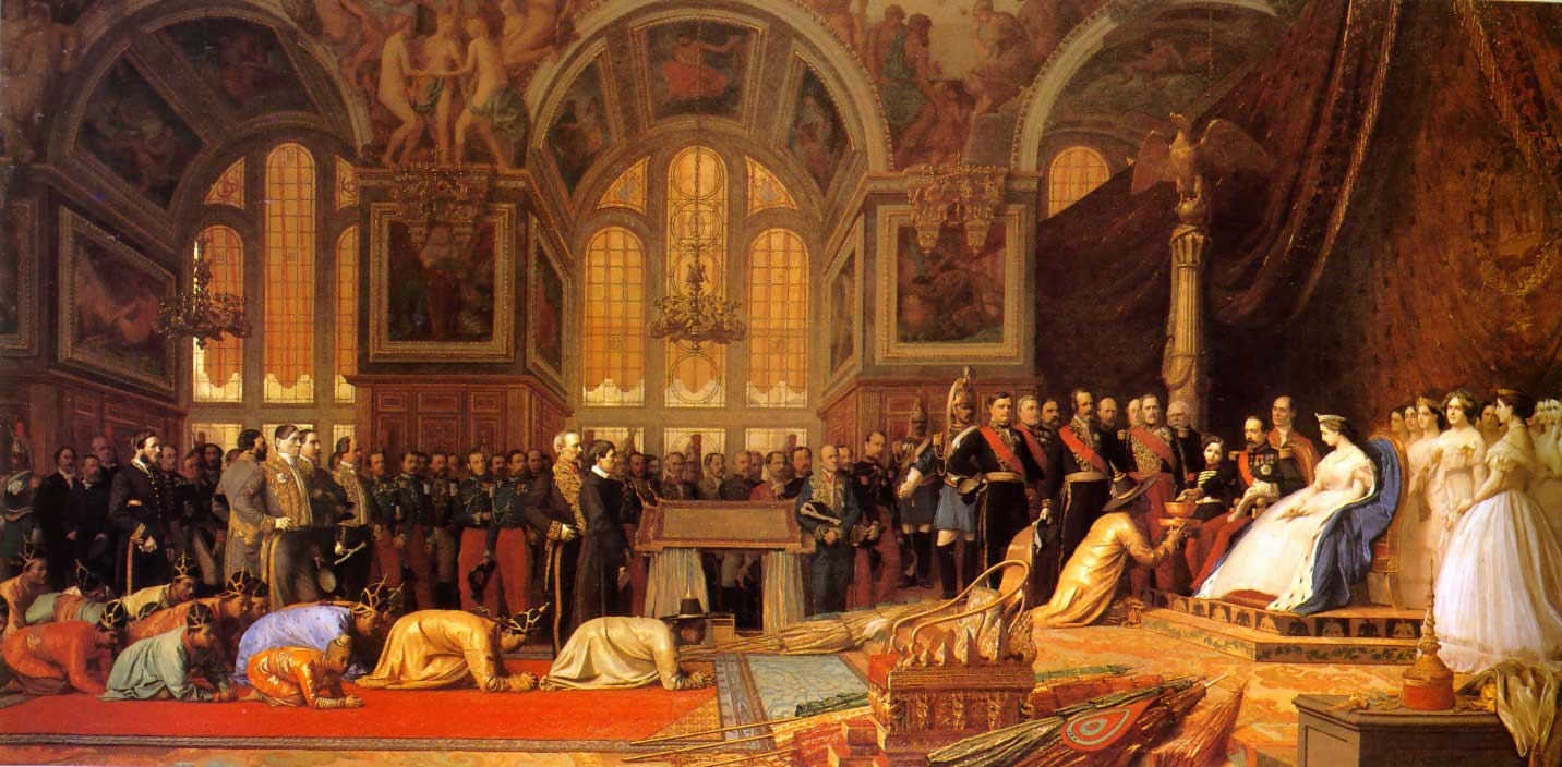 The Reception of the Siamese Ambassadors