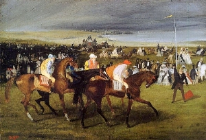 At the Races the Start 1861-62