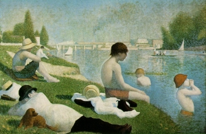 Bathers at Asnieres 1883-84