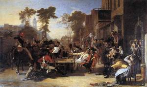 Chelsea Pensioners Reading the Waterloo Dispatch 1818-22