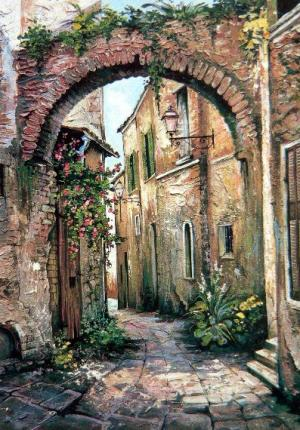 Cobbled Street, St. Remy