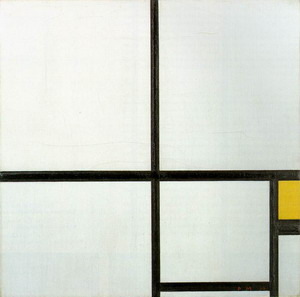 Composition with Yellow Patch 1930