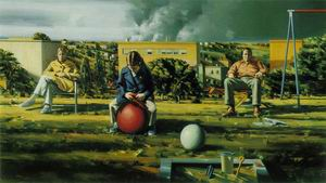 Figures in a Landscape 1972-73
