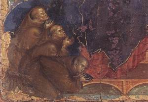 Madonna of the Franciscans (detail) c. 1300