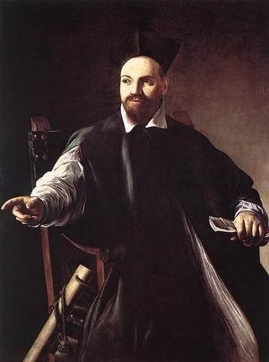 Portrait of Maffeo Barberini. c. 1598-1600