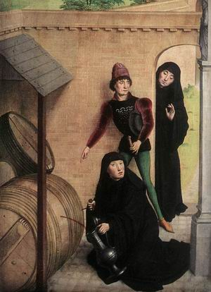 Scenes from the Life of St Bertin (detail) 1459
