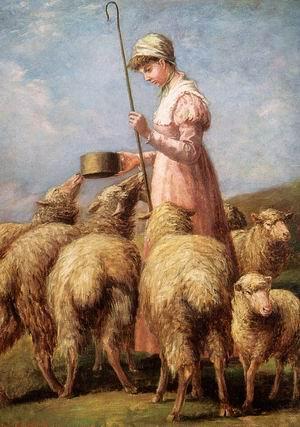 Shepherdess 1889