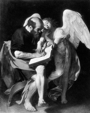 St Matthew and the Angel 1602