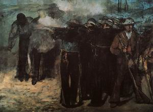 Study for Execution of the Emperor Maximilian, 1867