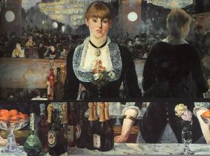 The Bar at the Folies Bergere, 1882