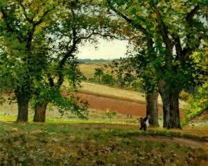 The Chestnut Trees at Osny c. 1873