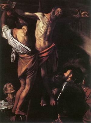 The Cricifixion of St. Andrew. c. 1609-1610