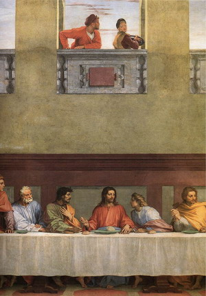 The Last Supper (detail) 1520-25