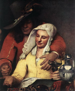The Procuress (detail) 1656