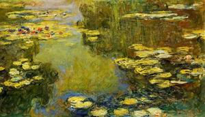 The Water- Lily Pond (detail) 1917-1919