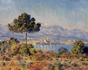 View of Antibes from the Notre-Dame 1888