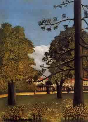 View of Parc de Montsouris 1894-1895