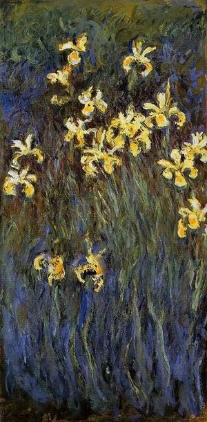 Yellow Irises2 1914-1917