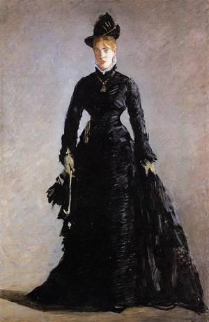 La Parisienne Study of Ellen Andree 1874