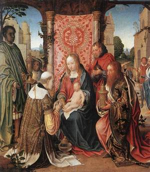 The Adoration of the Magi c. 1505