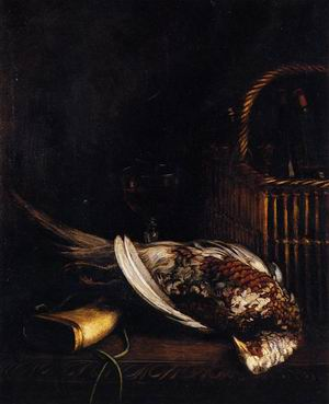 Still Life with Pheasant 1861