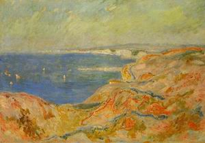 On the Cliff near Dieppe1 1897