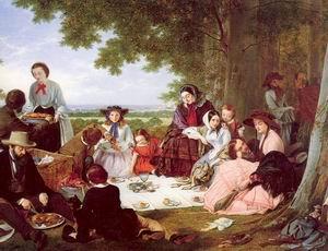 A Picnic 1857